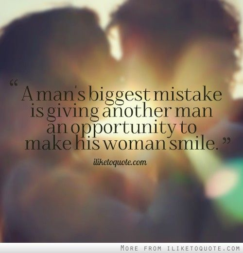 A Man's Biggest Mistake Is Giving Another Man An