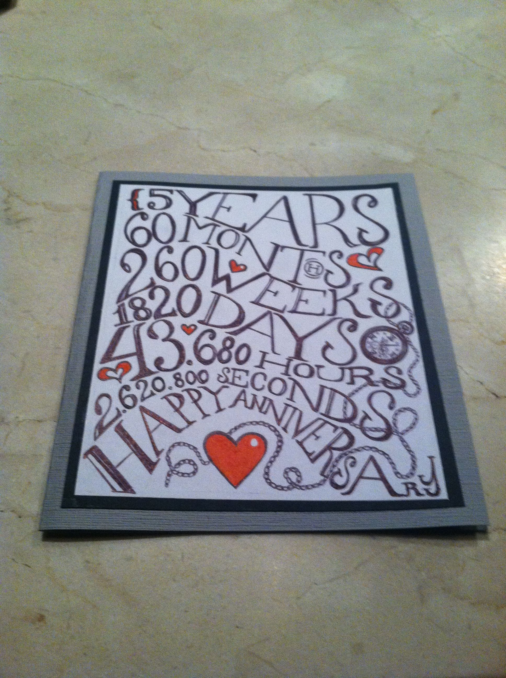 Anniversary cards to my husband ~ You re every minute love anniversary quotes cards
