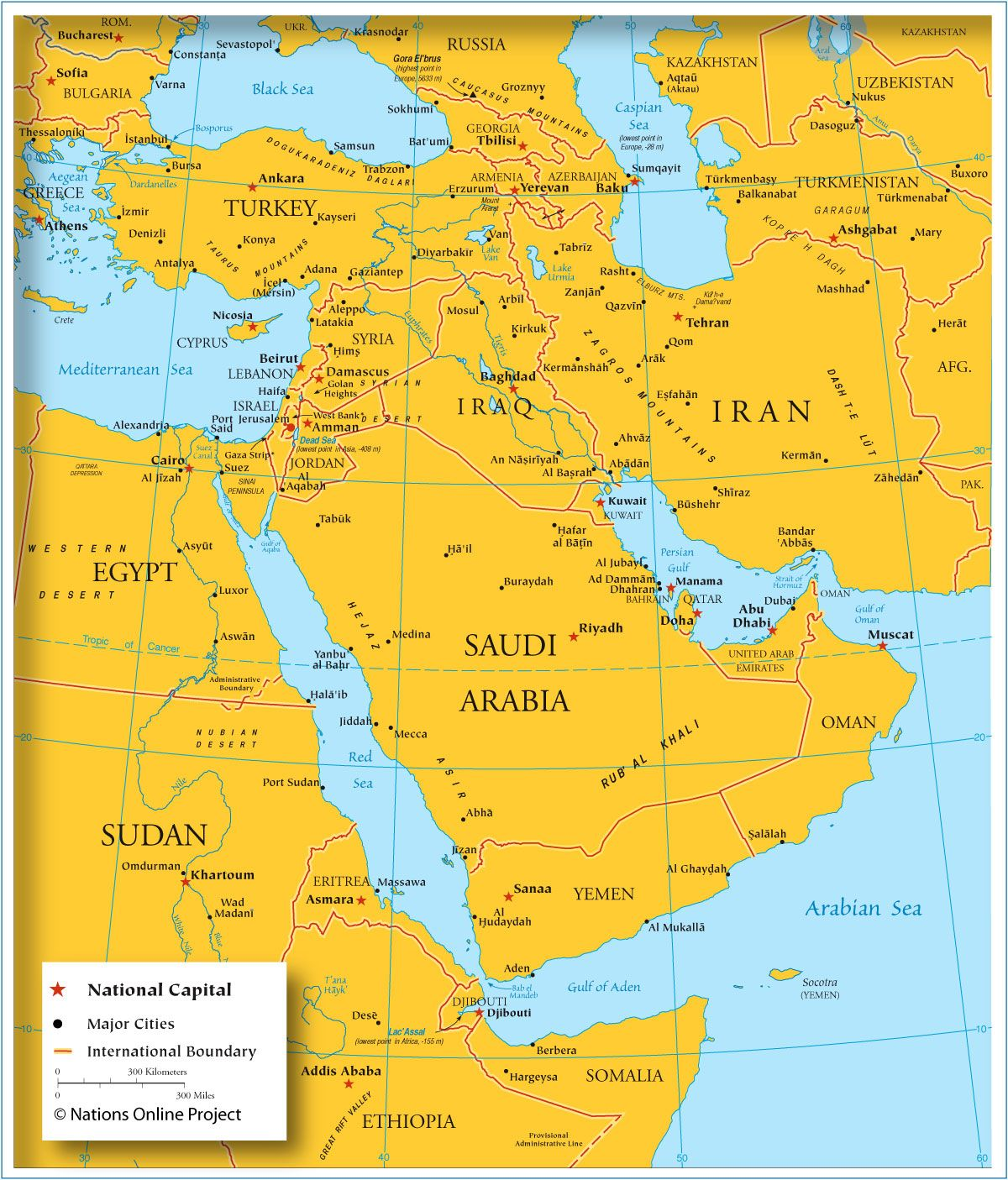 Map Of Southwestern Asia And The Middle East News Help Pinterest
