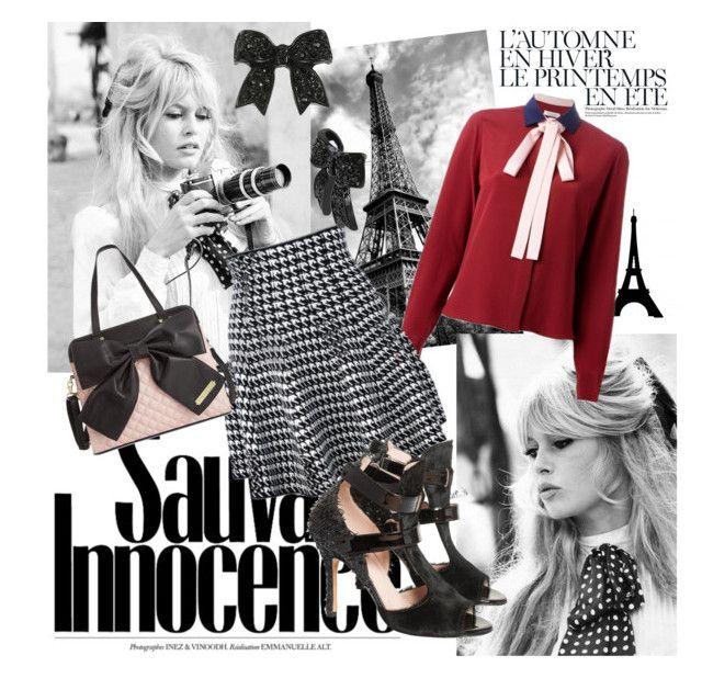"""Iconic Divas: Brigitte Bardot"" by romaosorno ❤ liked on Polyvore featuring Été Swim, Valentino, De Siena, Betsey Johnson, women's clothing, women's fashion, women, female, woman and misses"