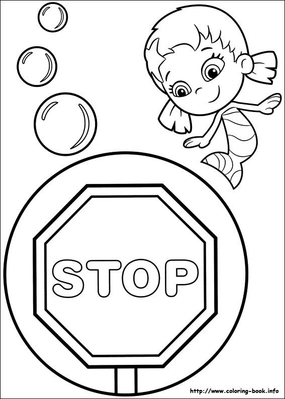 Bubble Guppies coloring picture | Bubble Guppies Party | Pinterest ...