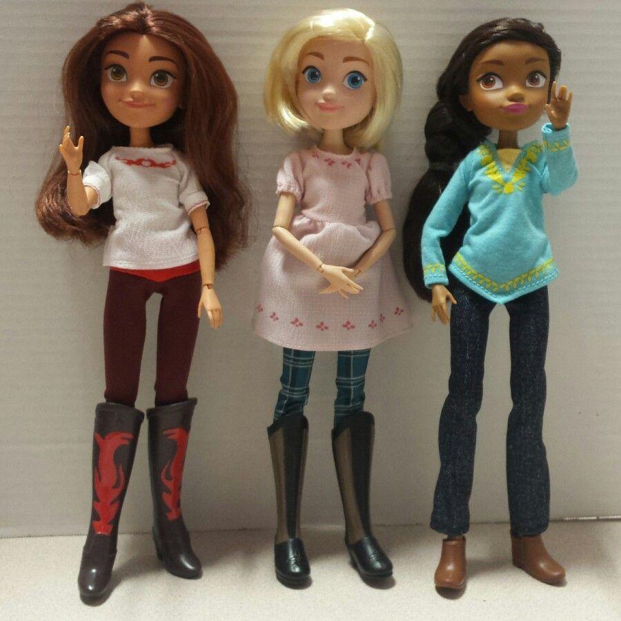 Spirit Riding Free Dolls, Lucky, Abigail And Pru Free