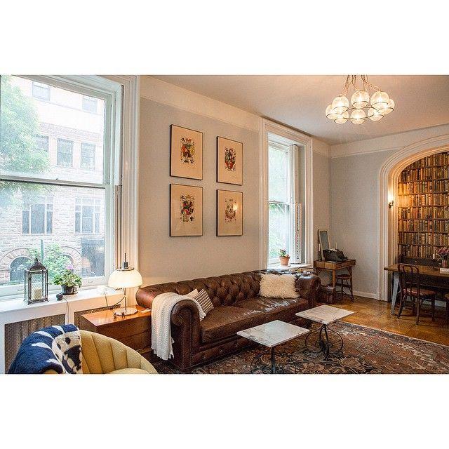 Home Sweet Aarontjoseph Brooklyn Brownstone Nyc Brooklynheights Interiordesign Design Lovehome Decor Homedecor Interiordecor Dali Art