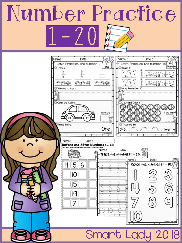 Number practice | Educational Finds and Teaching Treasures | Pinterest