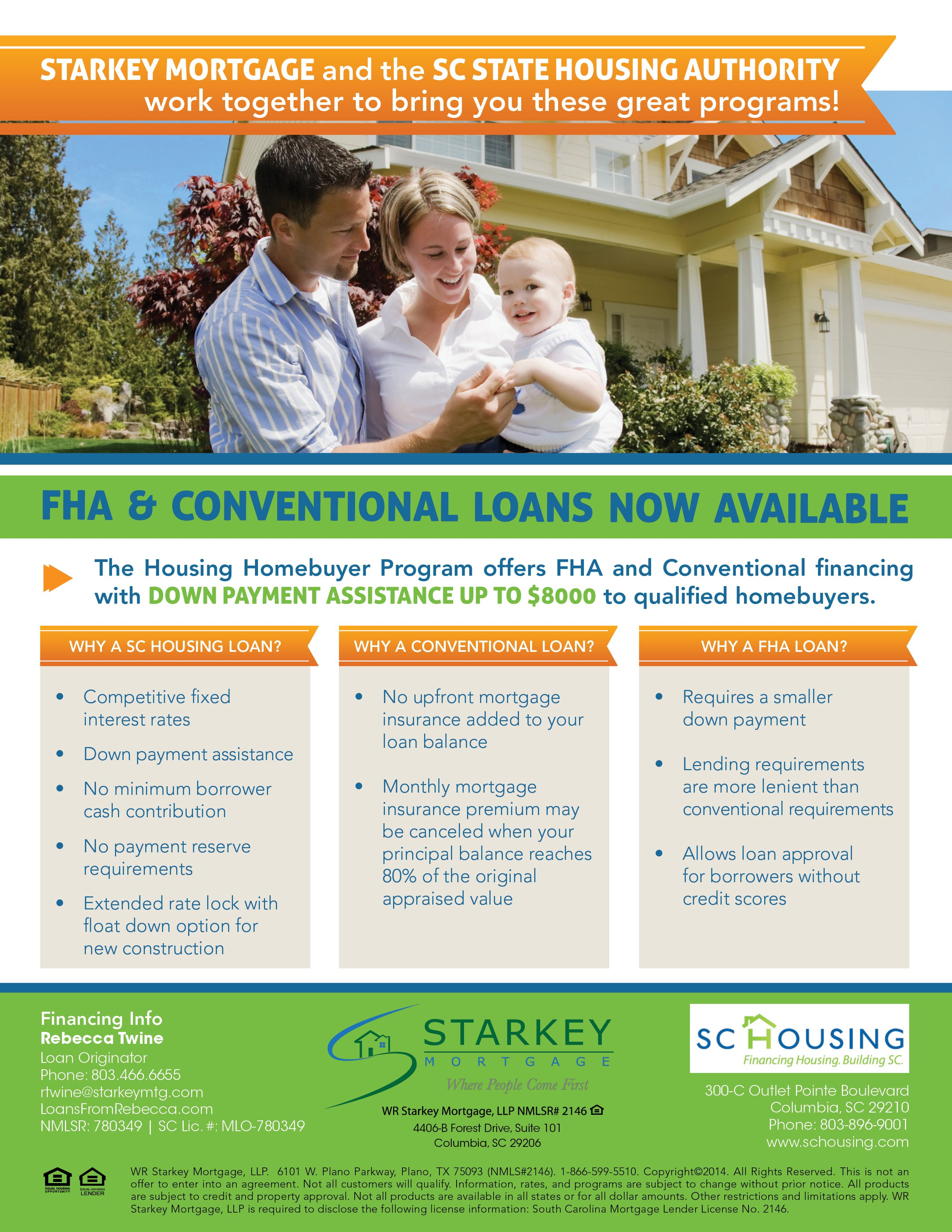 state housing loans flyer example south carolina loans flyer