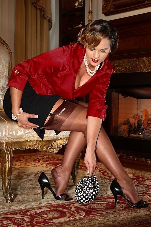 4ecb0b46d RHT Stockings - Reinforced Heel and Toe Nylon Stockings - SIL Classic RHT
