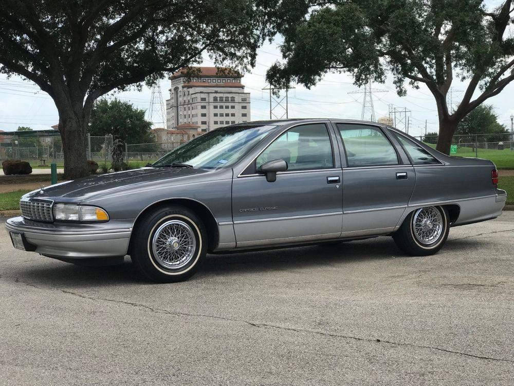 Ebay 1992 Chevrolet Caprice Classic 1992 Chevrolet Caprice