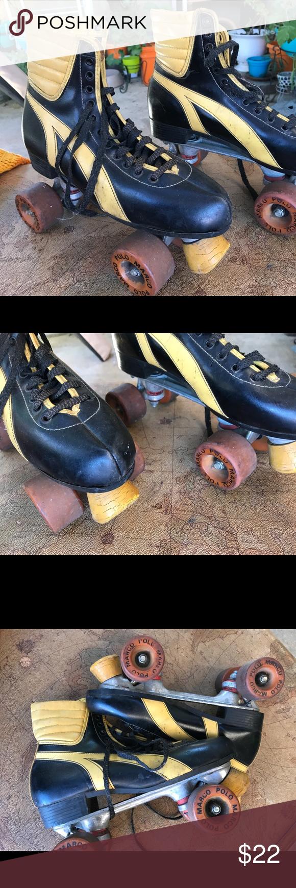 Vintage men's size 11 Marco polo Rollerskates Men's size