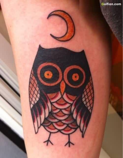 Owl Tattoos Designs – Best Cartoon Owl Tattoo Images   Golfian.com ...