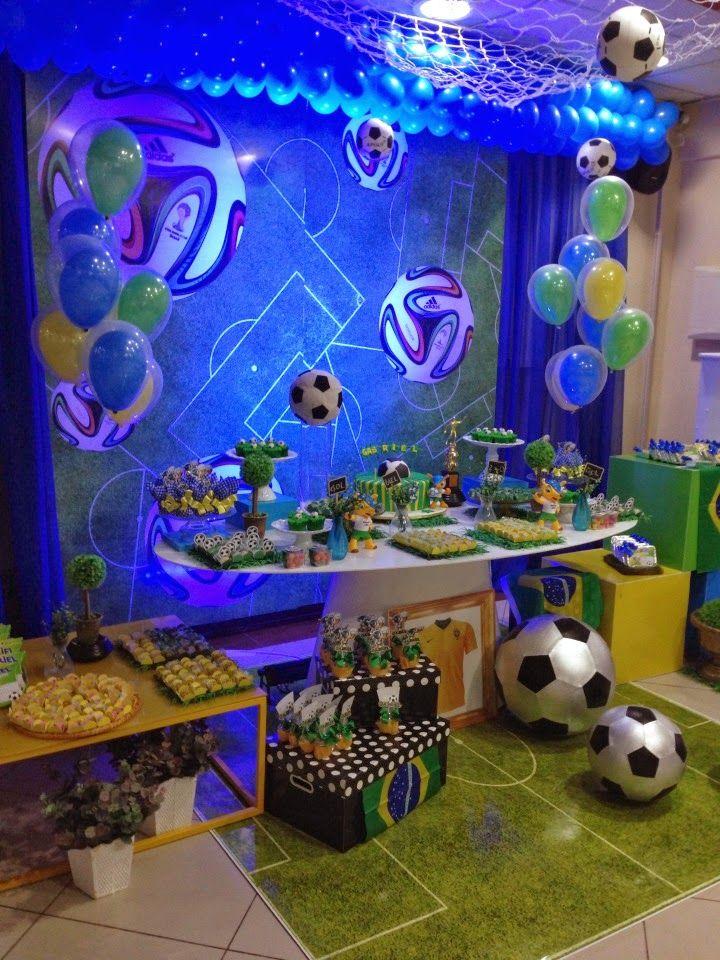Encontrando Ideias Temas De Futebol Para Festas Festa De