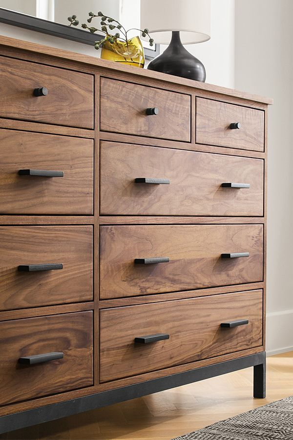 Linear Wood Dressers Modern Dressers Modern Bedroom Furniture