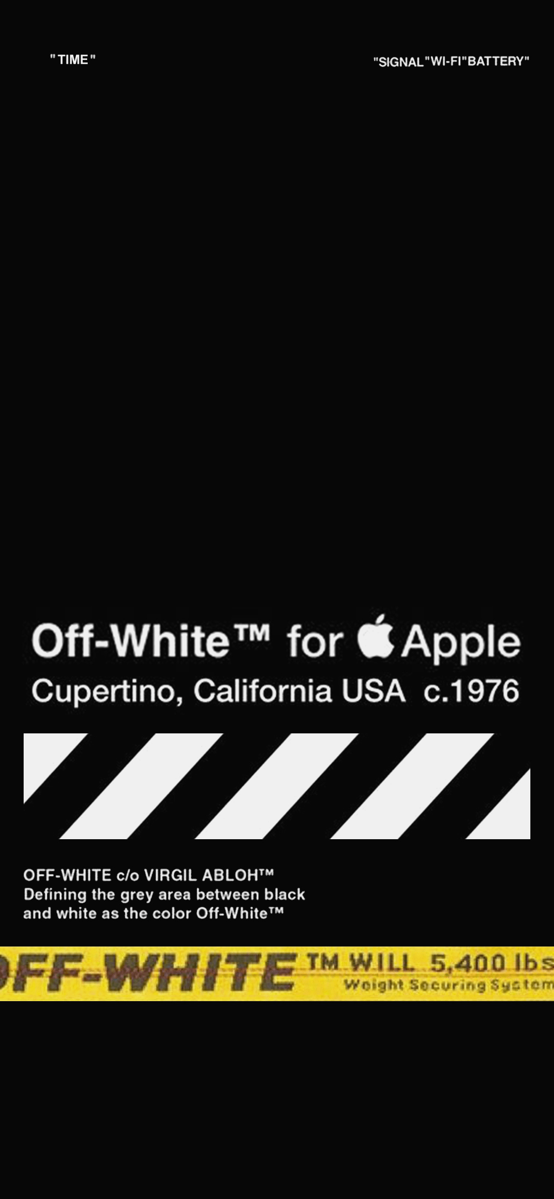 Off White 1 Iphone Wallpapers On Wallpaperdog In 2020