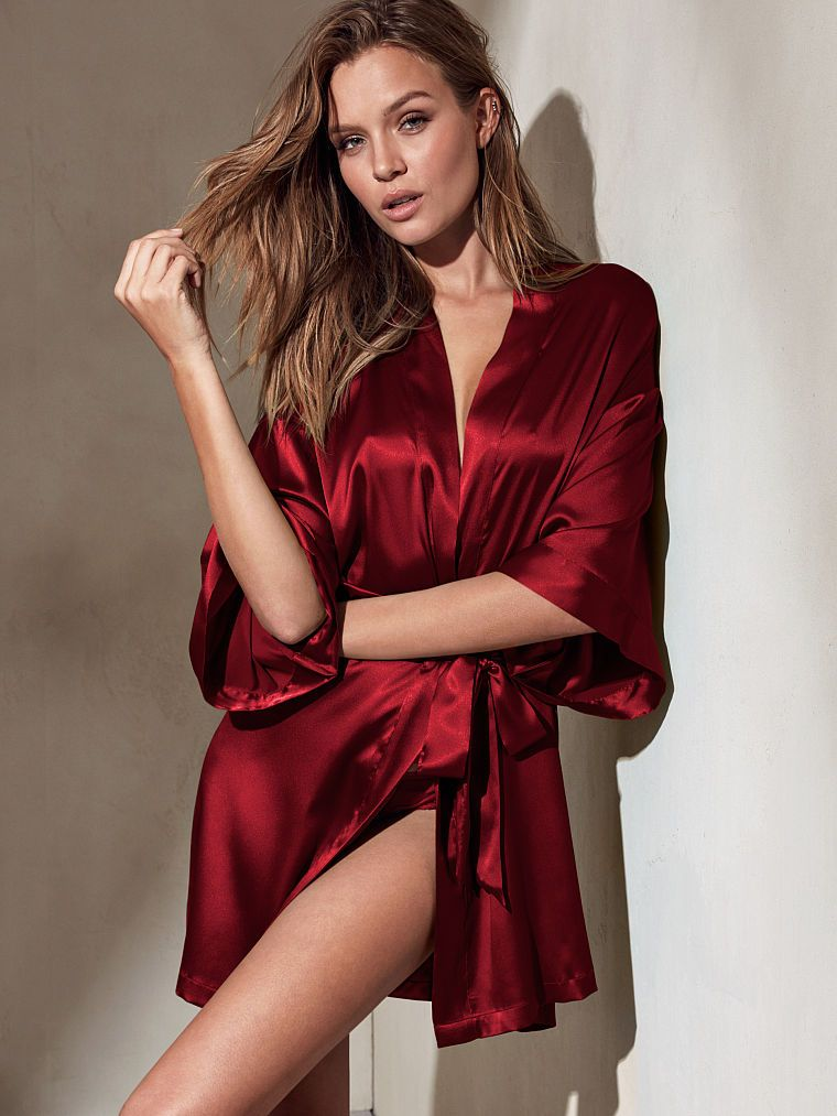 08659edc40 Downtime gets glam with the Kimono from Victoria's Secret. Shop our  sleepwear collections for the softest, slinkiest wraps and robes.