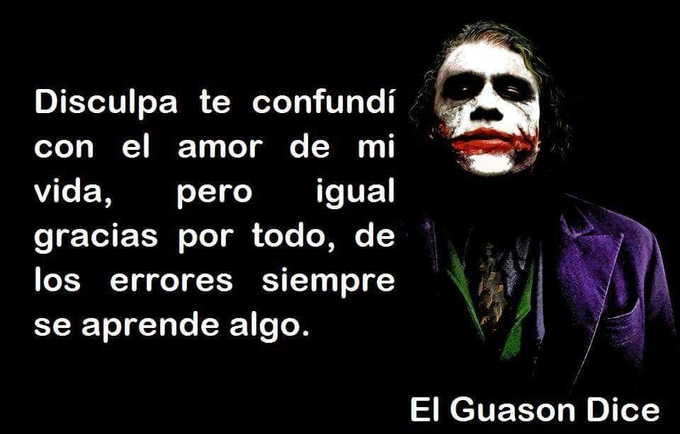 Guason Frases Pinterest Joker Joker And Harley Quinn Y Joker
