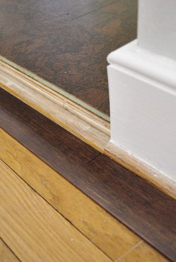 How To Add Floor Trim Transitions And Reducers Selling Our House