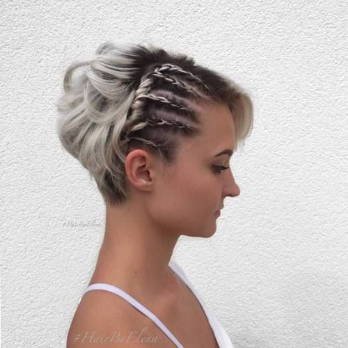 50 heißesten Prom Frisuren für kurze Haare – Beste Frisuren Haarschnitte