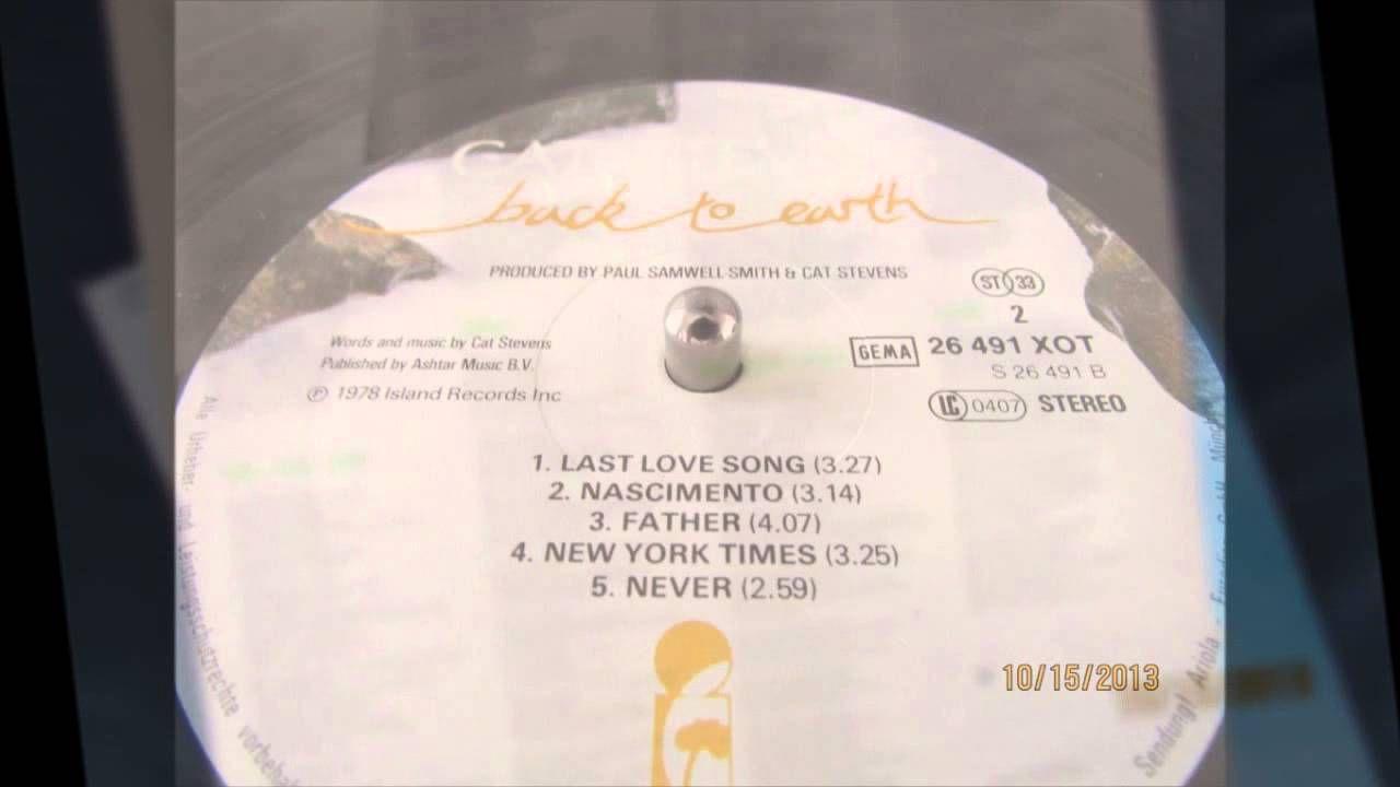 Cat Stevens Back To Earth Full Album Cat Stevens Album Steven