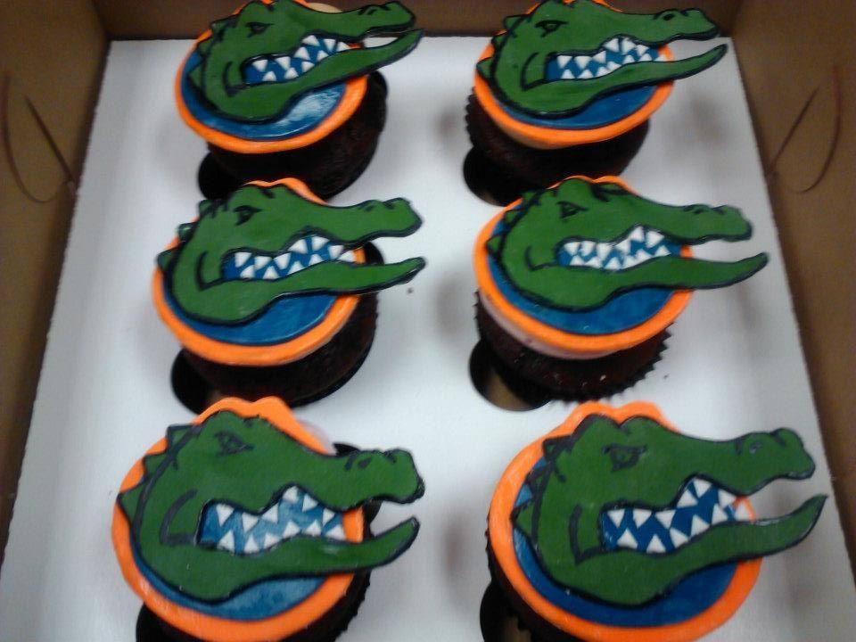 Florida Gator Cupcake Toppers Cupcake Love Graduation