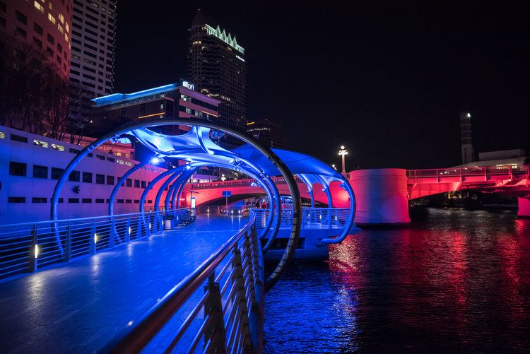 things for couples to do in tampa at night