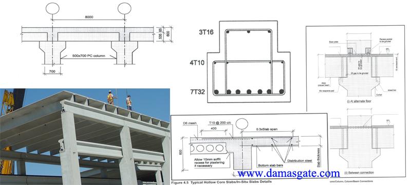 Structural Design Of Precast Concrete Elements شيتات اكسل Excel Spreadsheets Precast Concrete Structure Design Concrete