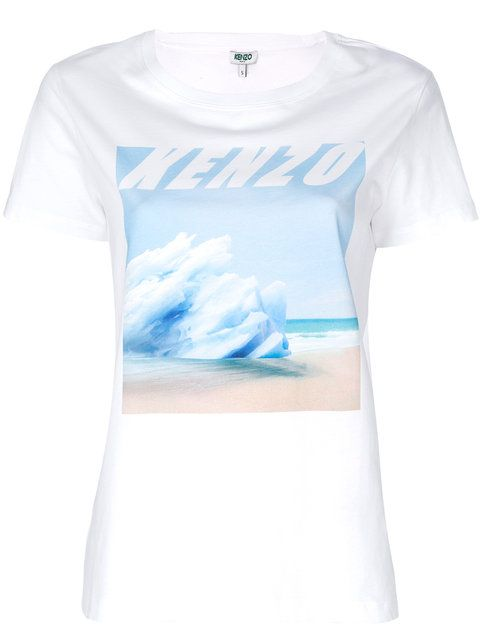 544ba43be4d5 KENZO Waves T-shirt. #kenzo #cloth #t-shirt | Kenzo | Shirts, Kenzo ...