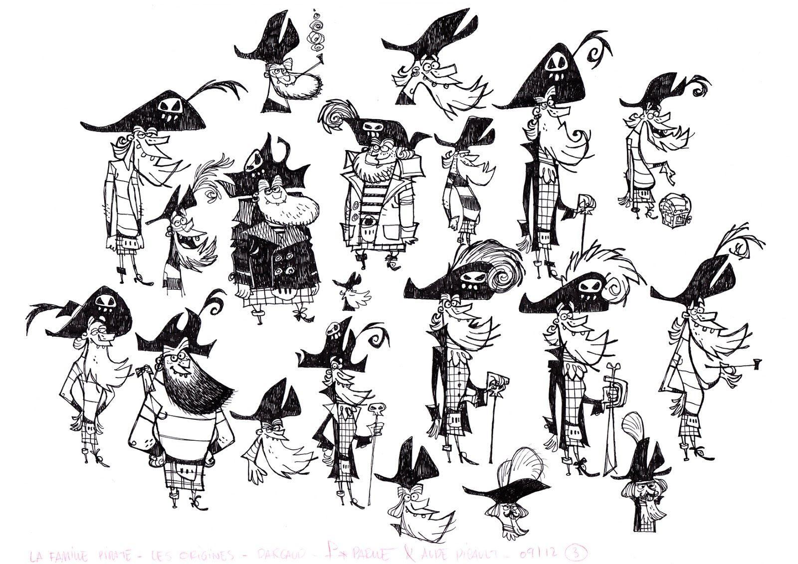 Fabrice parme la famille pirate pinterest parme - Dessin anime de la famille pirate ...