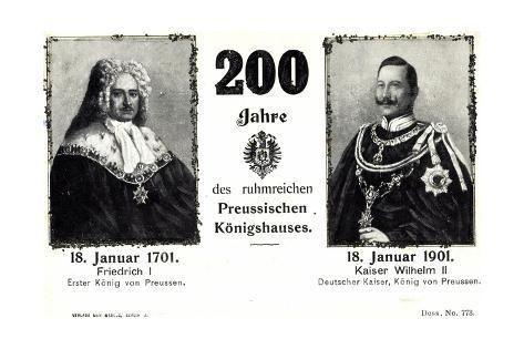 size: 24x16in Giclee Print: Glitzer Künstler 200 J. Preußisches Königshaus, 1901 :