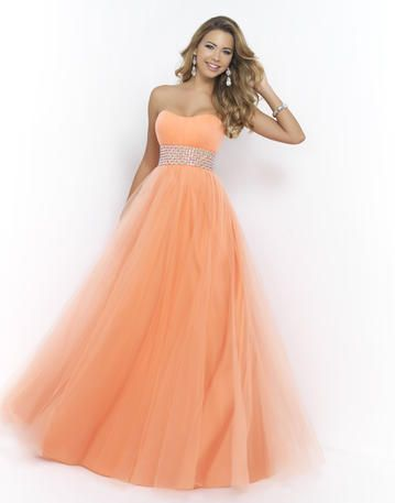 Open Back and Pink Strapless Prom Dresses 2015