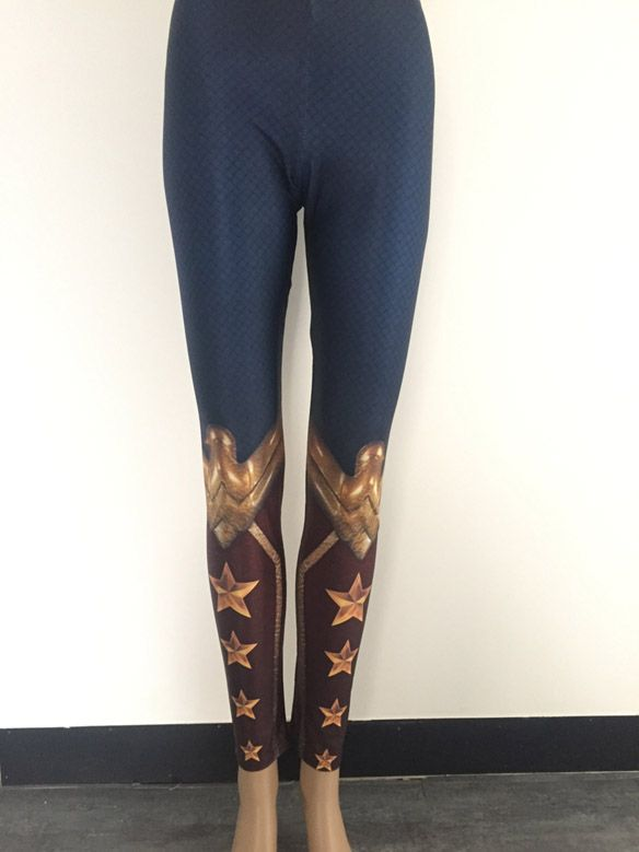 80611720bbc2c Wonder Woman Leggings