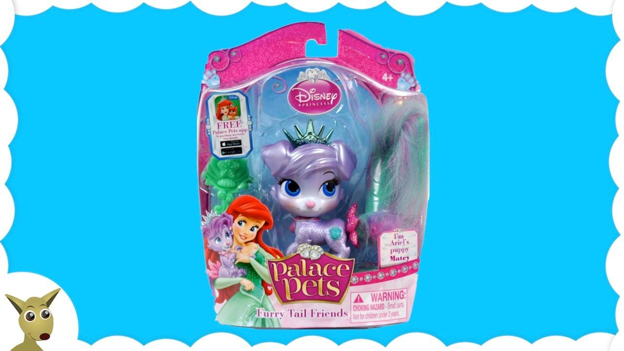 Disney Palace Pets Ariels Pet Matey Toys For Girls