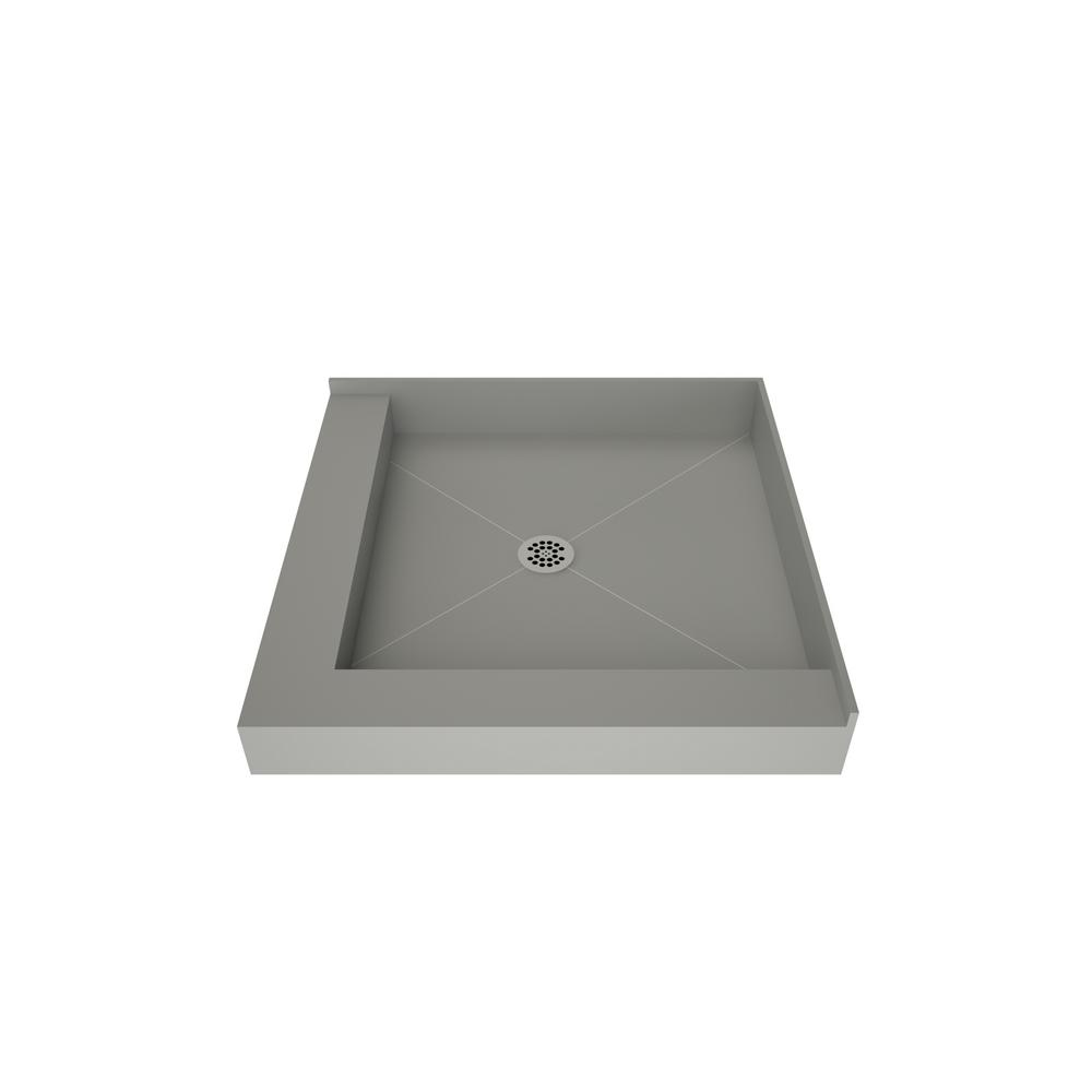 Tile Redi Redi Base 36 In X 36 In Double Threshold Shower Base