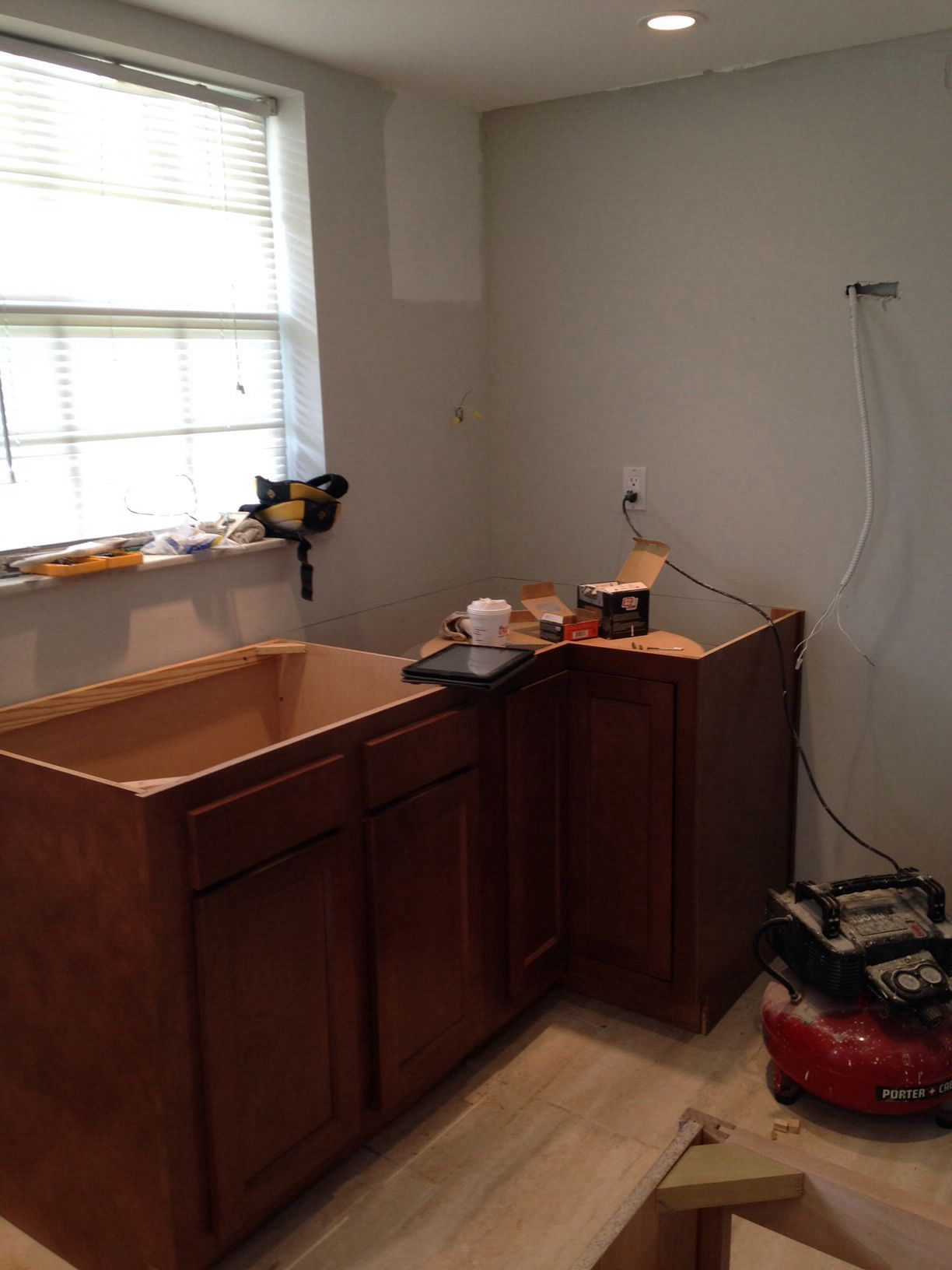 Glenwood Beech Cabinets By Kitchen Kompact Going In Cucine
