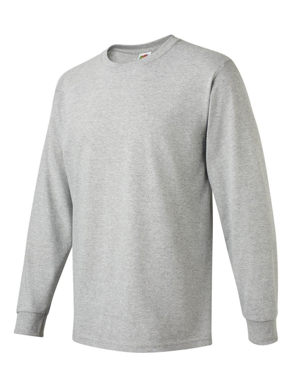 f55cef30 Fruit of the Loom 4930R HD Cotton Long Sleeve T-Shirt#HD, #Fruit, #Loom