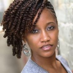 Side two strand twist | Natural hair twists, Twist hairstyles, Hair inspiration