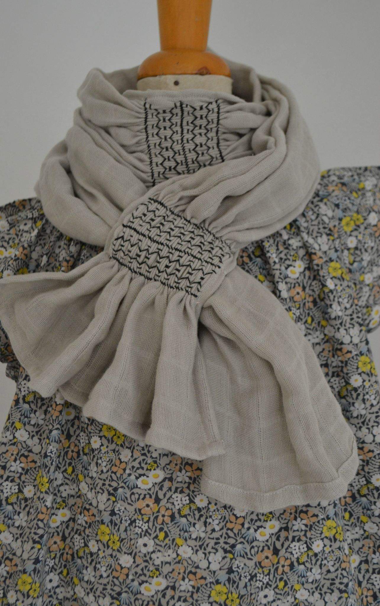 Ch che en lange smock couture id es femme pinterest for Couture a geneve