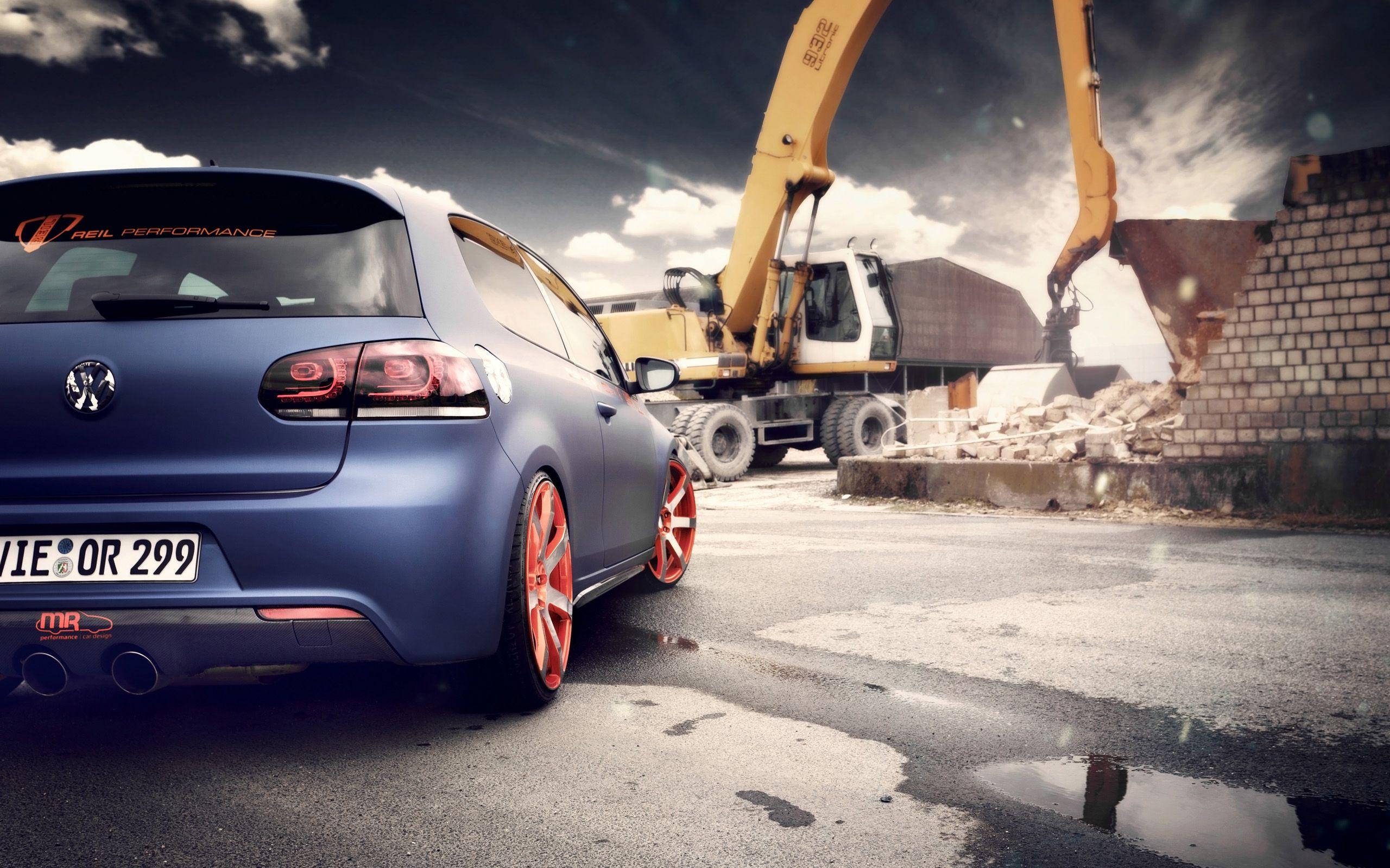 2012 BBM Volkswagen Golf Wallpaper Free Download Resolution