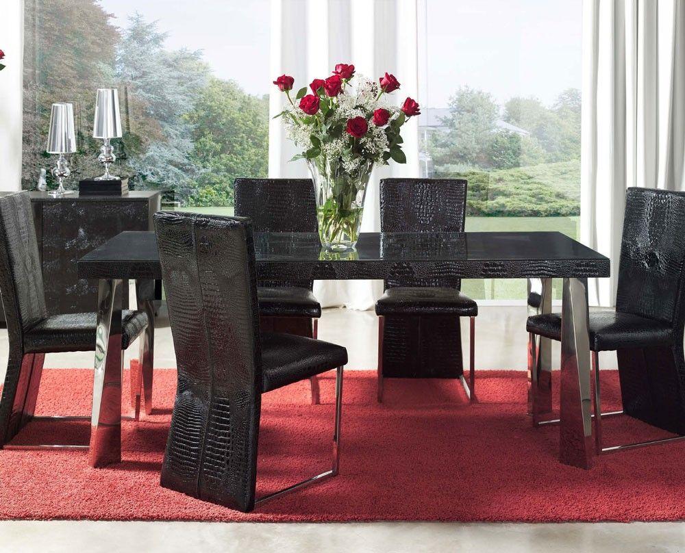 modern formal dining room sets     modern dining room sets ...