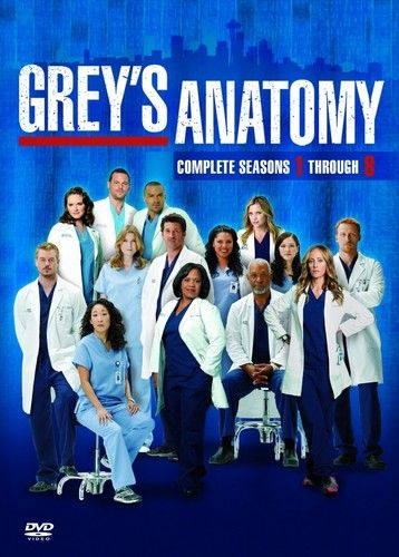 Grey\'s Anatomy images 1-8 dvd poster HD wallpaper and background ...