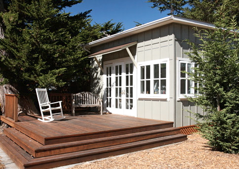 A tiny house on a trailer isn't for most people. But these are so homey and full of light.  http://www.tinyhousewebsites.com