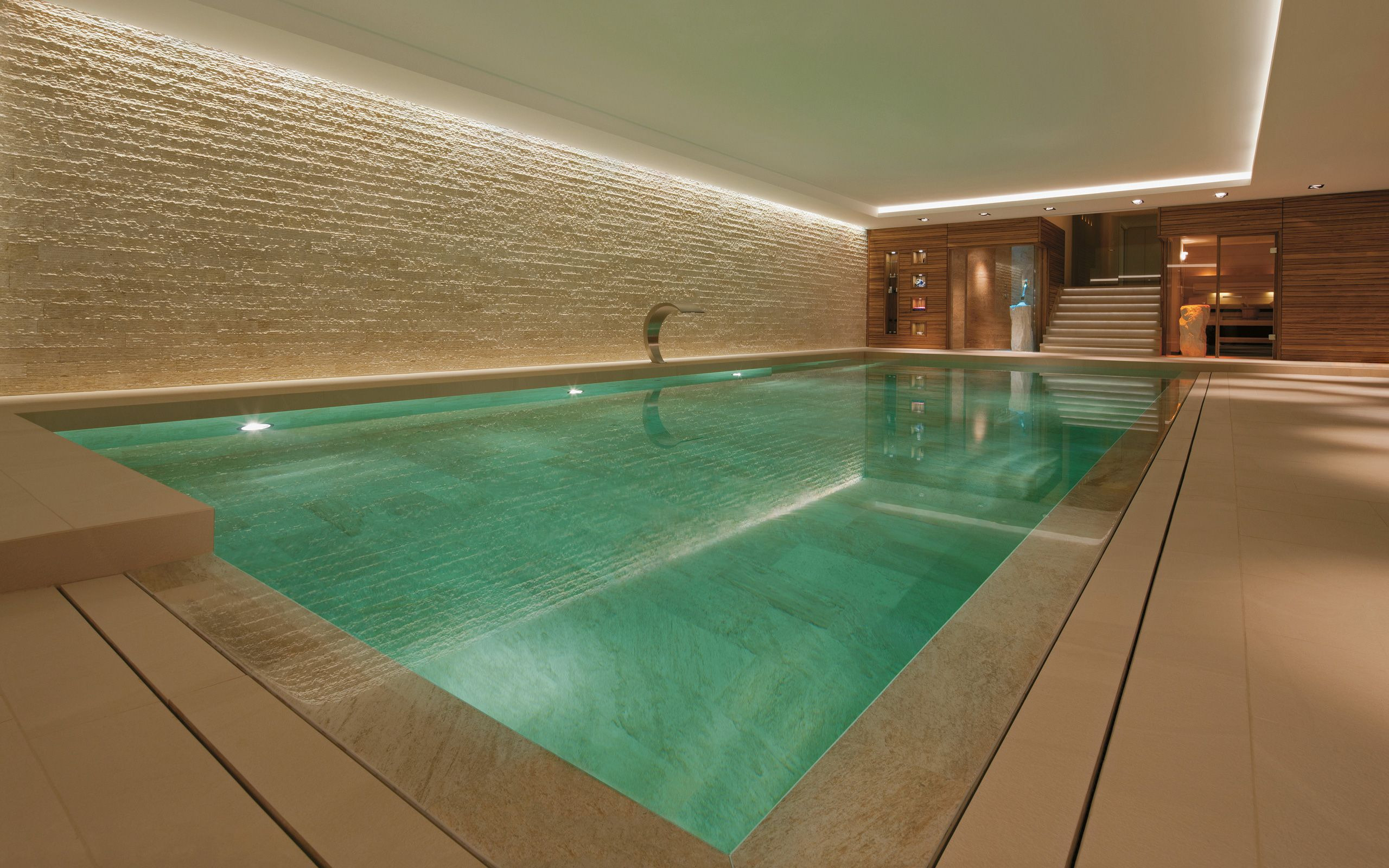 Ive always liked the idea of a basement swimming pool and to the ive always liked the idea of a basement swimming pool and to the right a lounge billiards room basments pools pinterest swimming pools fandeluxe Image collections