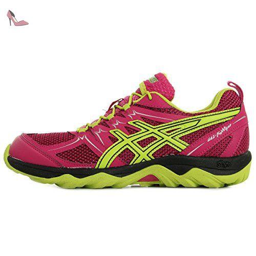 Gel-Cumulus 18, Chaussures de Running Compétition Femme, Multicolore (Aqua Splash/White/Pink Glow), 35.5 EUAsics