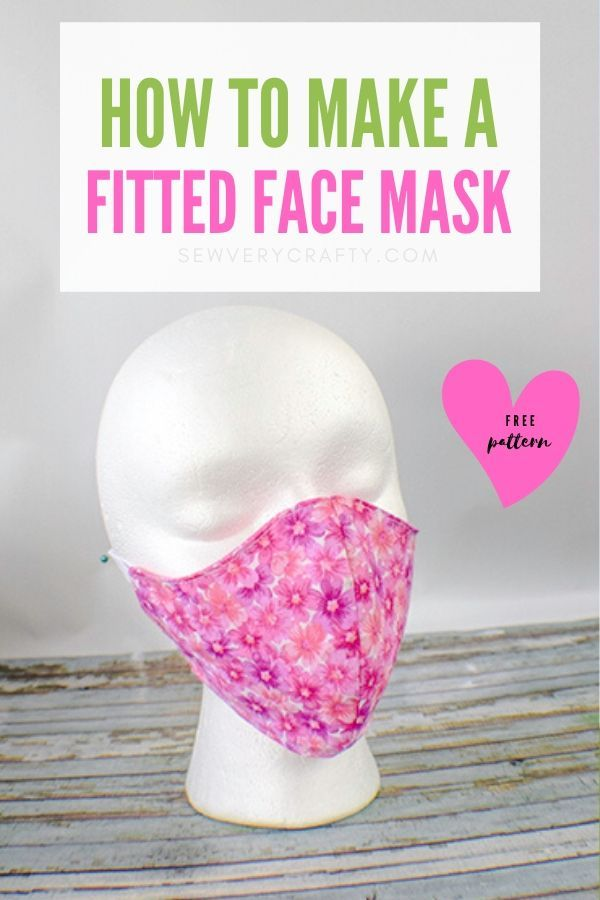 How to Make a Fitted Face Mask