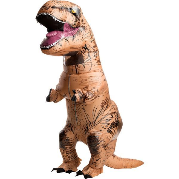 Adult Inflatable T-Rex Dinosaur Costume - Jurassic World | Fossil ...