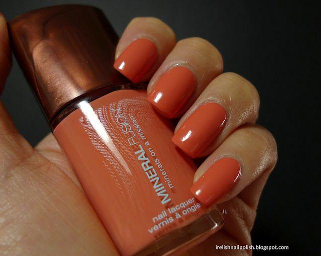 I Relish Nail Polish!: Mineral Fusion - Sunkissed | Make me UP ...