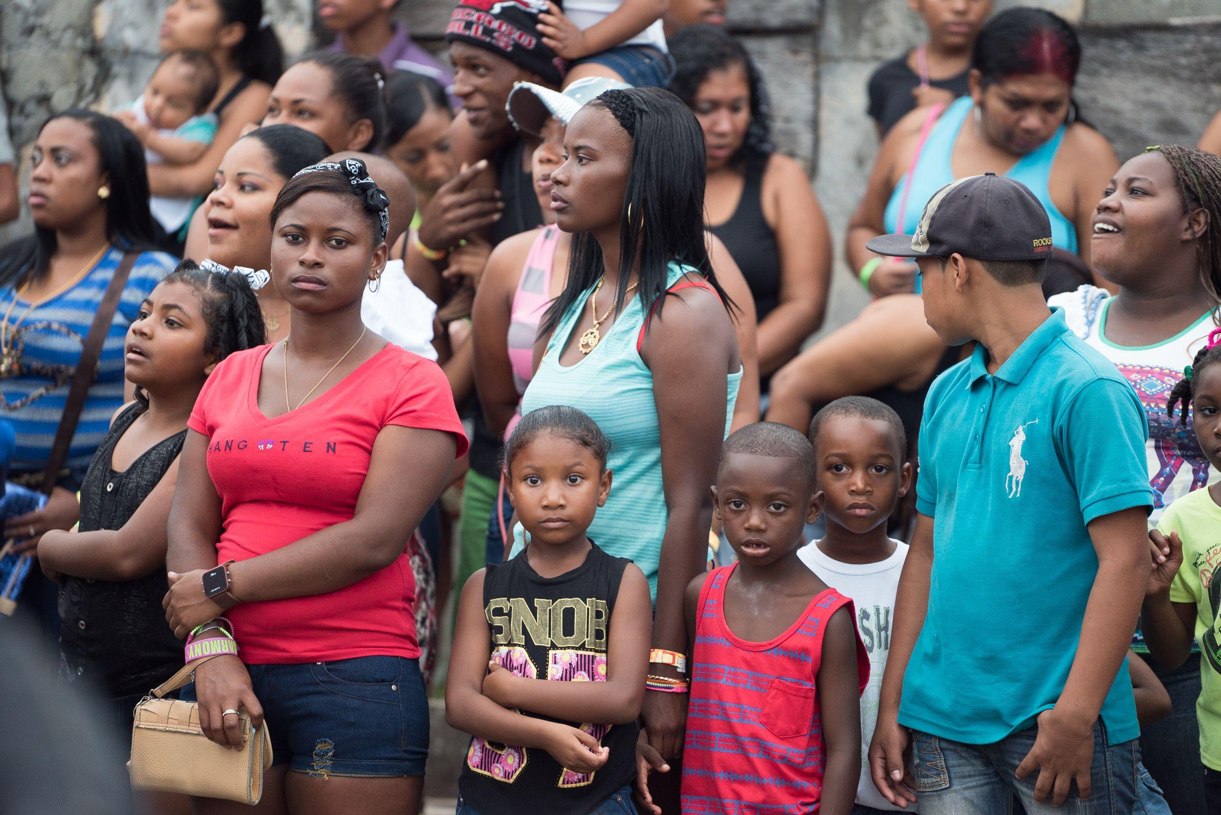 Bocas del Toro es una region mayoritariamente Afroamericana. Ocupan las zonas costeras en contraste con las indígenas que están mas inmersos en la selva.