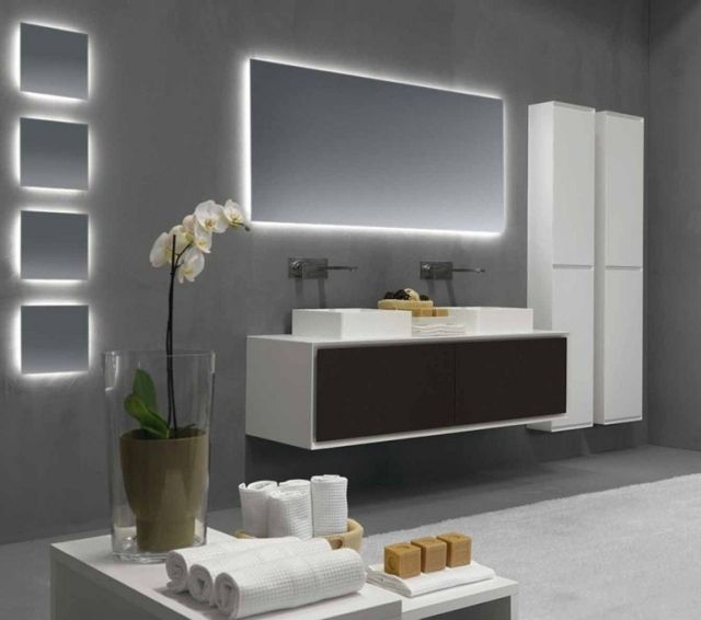 Ordinary Miroir Salle De Bain Design #11: Miroir Salle De Bains Lumineux De Luxe Par Les Top Designers!