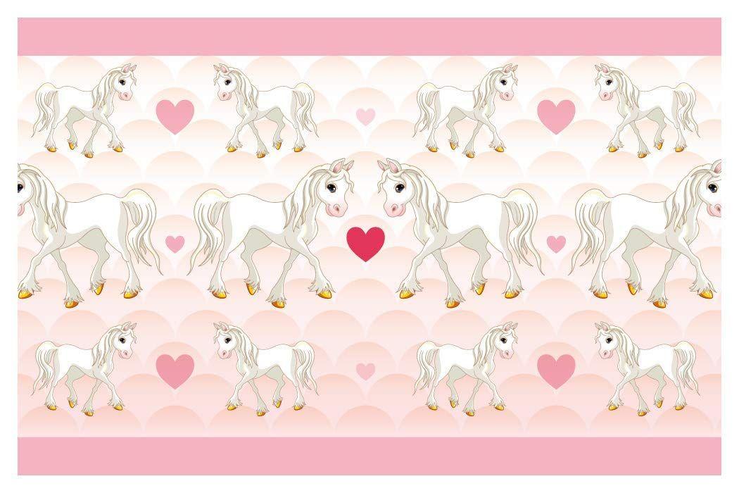 Niedliche Kinderzimmer Bordure Ponyhof Pferde Kinderdeko Selbstklebende Kinderzimmer Bordure Aus Eigener Pro Bordure Kinderzimmer Kinder Zimmer Kinderzimmer