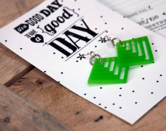 Kinder ketting cadeau halsketting - groot weinig cadeau! 35% korting te koop!  Transparante ketting met een unieke briefkaart met een zin inspiratie en