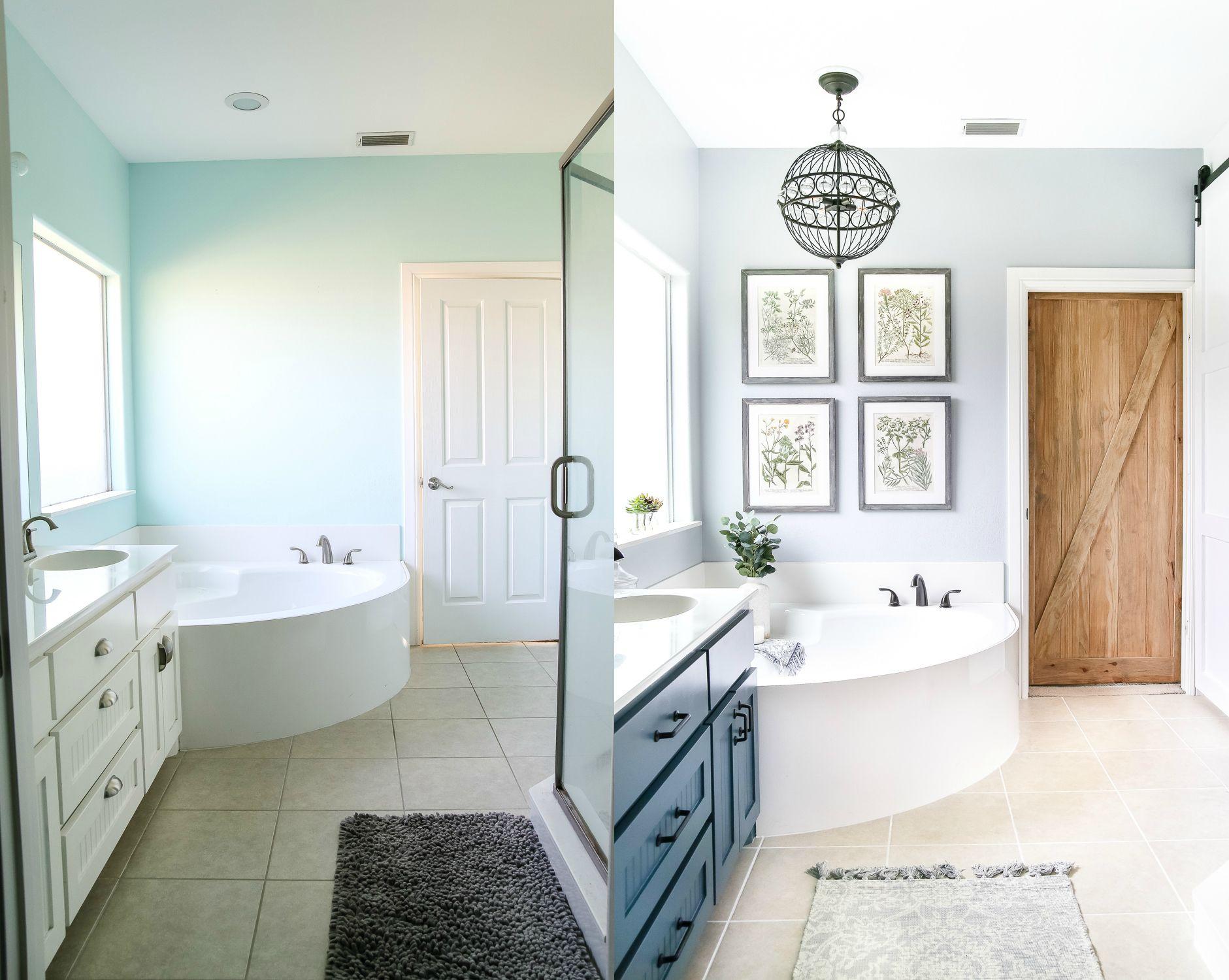 Industrial Rustic Master Bath Retreat | Bathroom | Bathroom, Master
