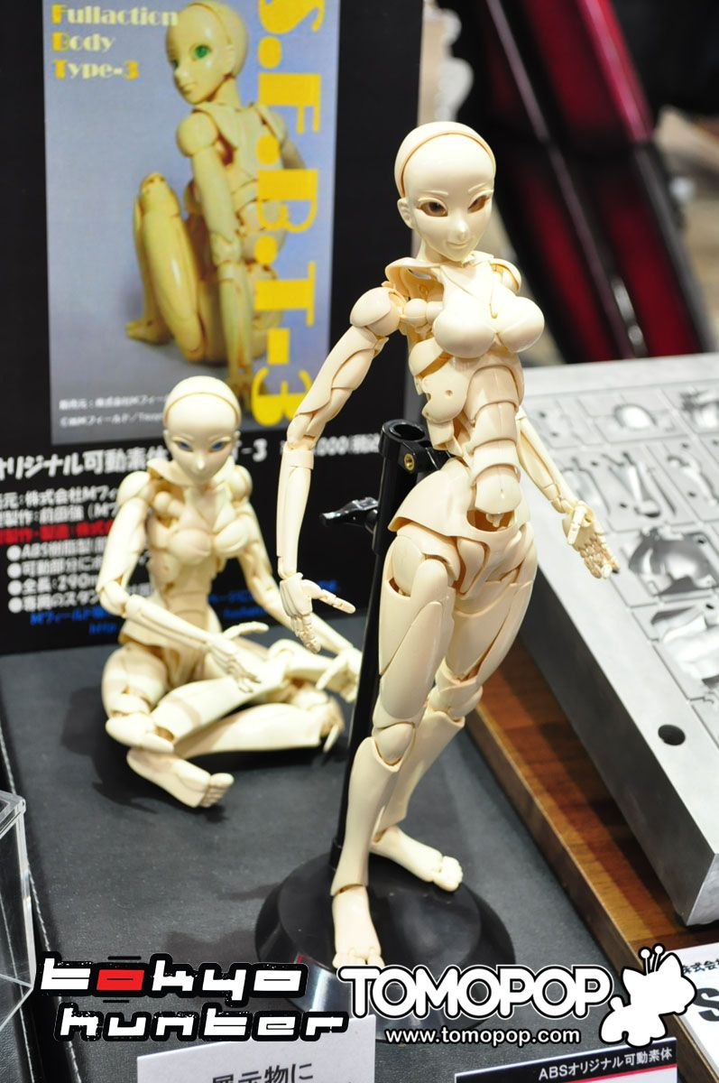 S.F.B.T-3 Special Fullaction Body Type-3 Wayward Girl Movable 12/'/' New No Box